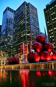 christmas in new york city usa photo on sunsurfer