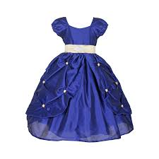 sofyana kids girls flower embroidered dress for party and wedding