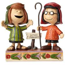 jim shore thanksgiving figurines jim shore peanuts marcie and peppermint patty figurine 3rd in