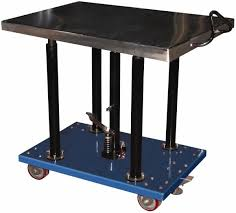 hydraulic lift table mscdirect com