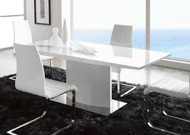 Contemporary Dining Room Tables - White modern dining room sets