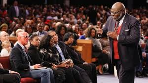 bishop td jakes come into his presence with thanksgiving in your