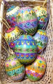fancy easter eggs easter eggs folk folk and easter