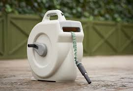Garden Hose Hanger With Faucet The Garden Oracle Hose Reels Holders Hiders U0026 Pots Page 1