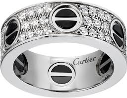 ceramic diamond rings images Crb4207600 love ring diamond paved ceramic white gold png