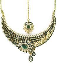 stone set necklace images Elegante indiase kleding kwaliteit sieraden simplymooi costume jpeg