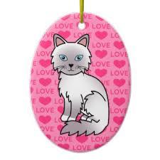 ragdoll cats ornaments keepsake ornaments zazzle
