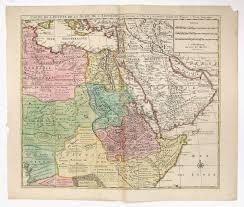 Maps Of Middle East by Antique Map De L U0027isle Elwe Issue Middle East