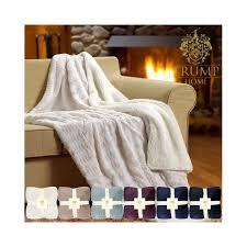 Trump Home Velvet Berber Blanket Walmartcom - Trump home furniture