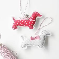 beagle christmas decoration ornament from beaglenthread on etsy