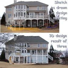 3 story homes deck designs for 2 story house radnor decoration