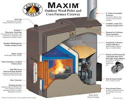 maxim wood pellet furnace central boiler duluth mn mmt heating