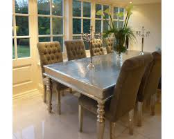 silver dining room table 2074