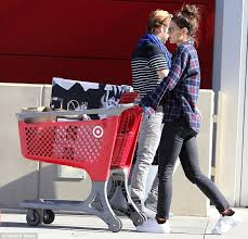 White Christmas Decorations Target by Katie Holmes Takes Daughter Suri To Target To Buy Christmas