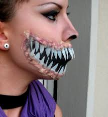 spirit halloween henrietta ny looks like she did this with a little latex maybe putty some