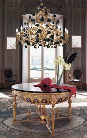 Empire Style Round Foyer Table - Empire style interior design