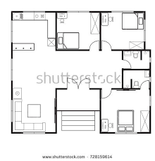 a house floor plan floorplan stock images royalty free images vectors
