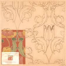 Wallpaper Design Images 36 Best Art Nouveau Textile And Wallpaper Designs Images On