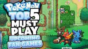 pokemon fan games online top 5 must play upcoming pokemon fan games youtube