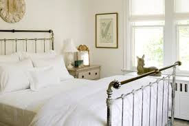 vintage metal bed cottage bedroom loi thai