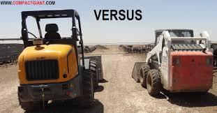 skid steer skid steer vs compact tractor 101 skid steer vs