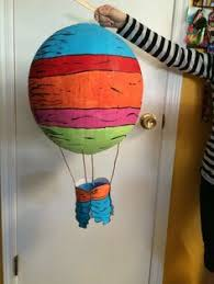 dr seuss balloons paper mache balloons taken from oh the places you ll go by dr