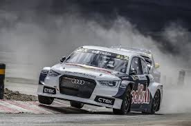 audi racing audi sport enters world rallycross championship via eks rx team