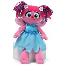 amazon com gund sesame street everyday abby cadabby take along