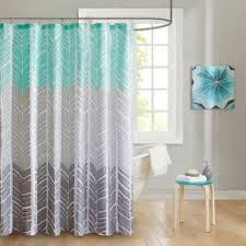 Gray Chevron Curtains Buy Chevron Curtains From Bed Bath U0026 Beyond