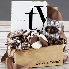 olive gifts thank you book chocolates all gifts olive cocoa