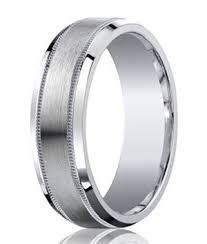 satin finish ring men s satin finish argentium silver wedding ring decorative