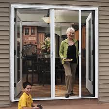 odl brisa short double door single pack retractable screen for 78