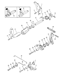 throttle and shift linkage side shift models for mariner mercury