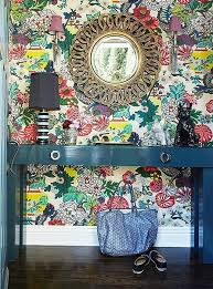 Best Images About Interior Design On Pinterest Brass One - Poppy wallpaper home interior