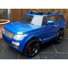 range rover blue kids range rover electric cars ride on range rovers