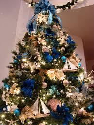 christmas tree with blue lights christmas lights decoration