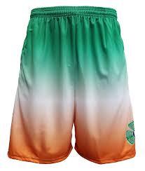 lax world irish shamrock shorts lax world