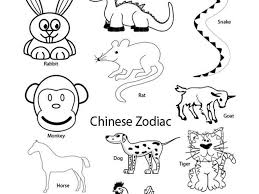 chinese rat chinese new year cow coloring page the year of the
