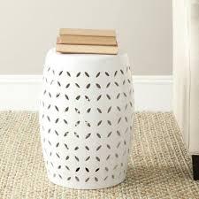glazed ceramic garden stool u0026 reviews birch lane