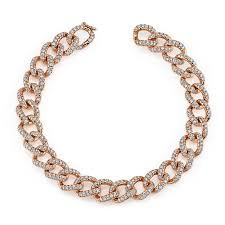 chain diamond bracelet images Small diamond chain link bracelet anita ko jpg