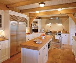 white kitchen cabinets with butcher block countertops 5 ways to create a cozy white wood kitchen