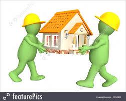 housebuilders new house builders illustration