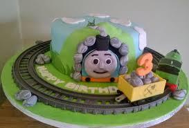 thomas the tank engine cake bake