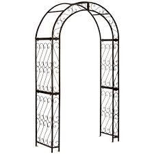 garden arbor archway trellis arch lawn decor patio wedding party