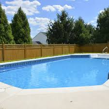 semi inground pool inground pools swimming pools semi inground