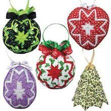 109 best no sew quilted ornaments images on