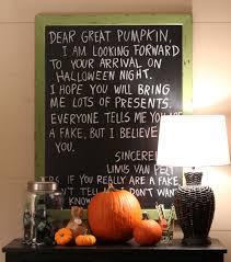 it s the great pumpkin brown halloweenchalkboard season