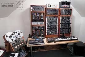 diy studio desk for comfortable keyboard playing simplified building