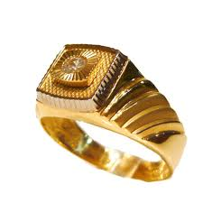 men gold ring design rolex design single set 14ct gold mens ring r1166