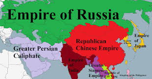 Maps Of Asia Map Of Asia Land Of Empires By Padplay On Deviantart